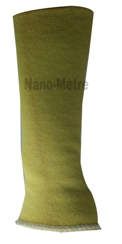 NMSAFETY yellow Aramid Fibers protective arm sleeve
