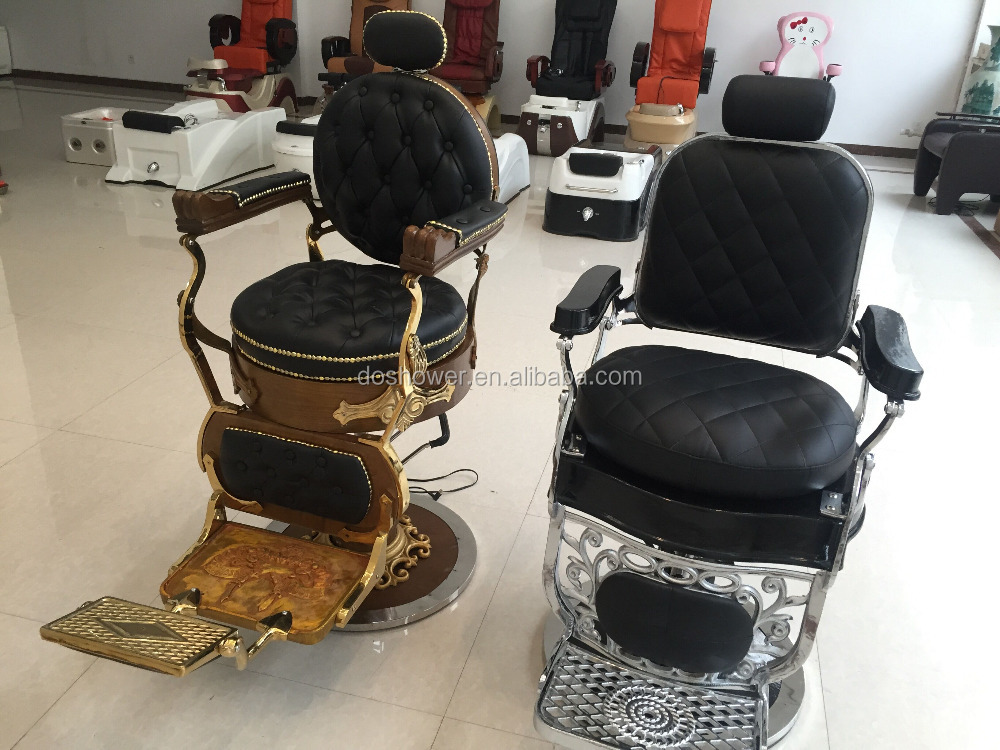 Ds l091antique barber chair station hair salon furniture for Beauty salon furniture packages