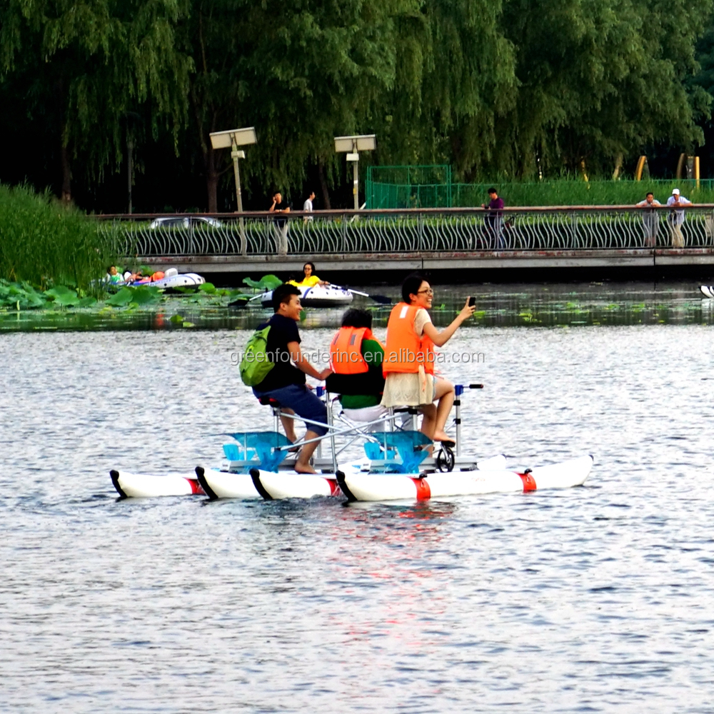 France Swiss Water Park Rental Water Tricycle Sea Bikes Supply