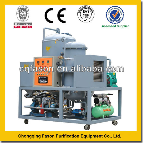 Exclusive techology and low-temperature portable transformer oil filter machine