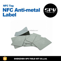 Custom Ntag213 Anti-Metal NFC Stickers for all NFC Enabled Smart Phone