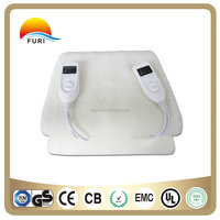 China Factory Wholesale 220V Anti-pilling Synthetic Wool Electric Blanket for Winter