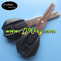 New Design motorcycle smart key with logo key blank in black