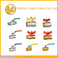mini Brass Ball Valve Pipe Nipple