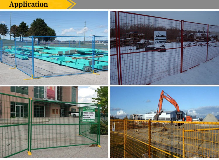 mobile temporary fence,free standing temporary fencing,easy install temporary fence