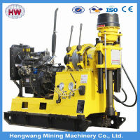 Diesel engine or electic motor power XY-3 hydraulic driling deep well rig