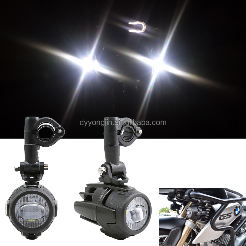 Spot LED Auxiliary Fog Light Safety Driving Lamp Motorcycle for BMW R1200GS (Fits: BMW)