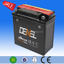 DENEL motorcycle battery YB6.5L-B 12V6Ah