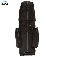 Promotional durable polyester mens golf bag with shoe compartment,essential golf stand bag
