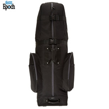 Promotional durable polyester mens golf bag with shoe compartment, essential golf stand bag
