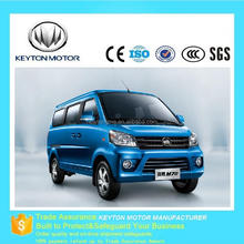 China good price 4 wheels mini cargo passenger van cars for sale