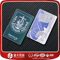Contactless RFID card with 1024 byte user memory and pvc material