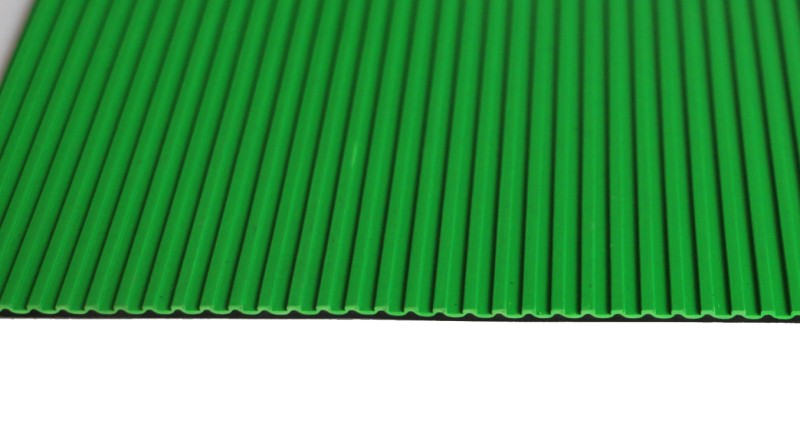 Good Quality Ribbed Rubber Sheet