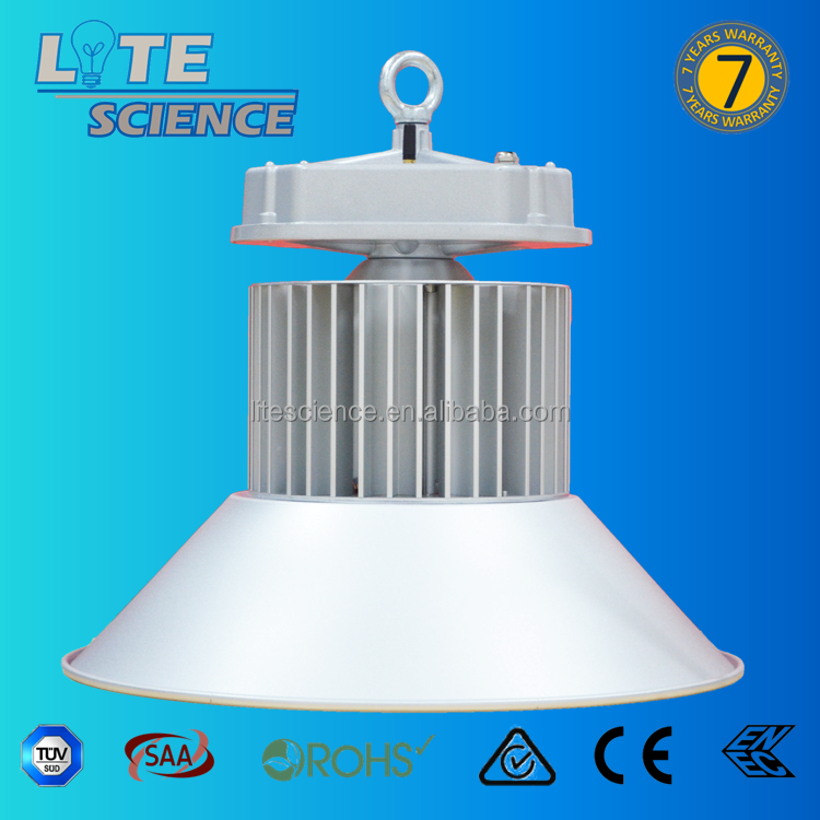 120LM/W ip65 led high bay light, 1-10V, Dali highbay. highbay light use in warehoues. 7 years warranty