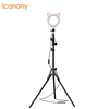 Home usage professional flexible selfie light stand-up selfie light phone hoder microphone selfie light for live stream lady