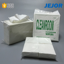 no dust 56gsm Industrial disposable cleanroom wipes manufacturer