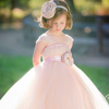 Flower Girl Dress With Wedding Birthday