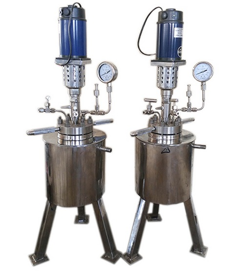 high pressure laboratory stirred chemical reactor Stainless Steel High Pressure Vessel
