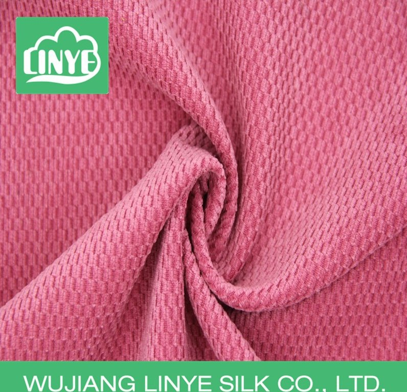 textile factory polyester car seat cover fabric corduroy