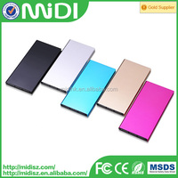Ultra-silm functional full colors powerbanks 10000mah for iPhone for smartphone