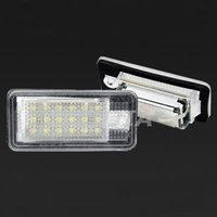 led license plate light for audi a6