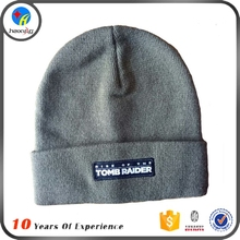 Hot Sale Custom Embroidery Logo Wholesale Cheap 100 Acrylic Beanie