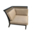 With sunbrella fabric cushions outdoor sofa set patio furniture sectional