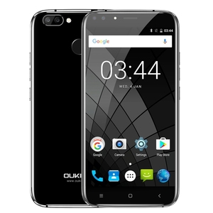 "Original Oukitel U22 5.5"" HD Quad Core Smartphone MTK6580A 2GB+16GB Android 7.0 Quad cameras 8MP Fingerprint ID 3G Mobile Phone"