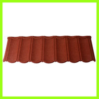 Stone coated steel roof tiles classic roof