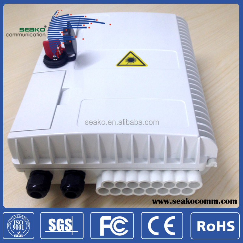 SC 16 cores/LC 32 cores outdoor fiber optic terminal box/cable terminal box