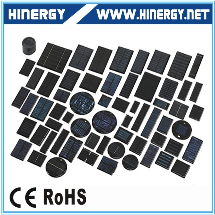 0.1-3.6w Mini Epoxy Resin Encapsulated Solar Modules For Toys And Science Kids