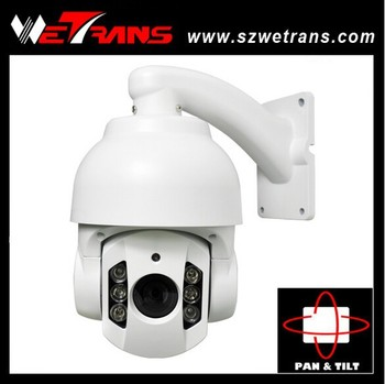 Wetrans 1080P high speed ip ptz dome camera