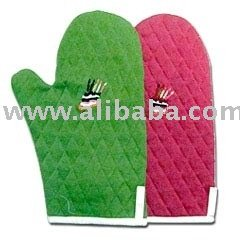 Kitchen and Table Linen Microwave Gloves