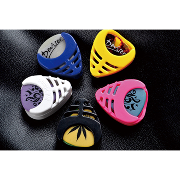 wholesale color plastic guitar pick holder <strong>case</strong>
