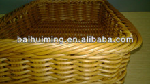 Bread Basket in Poly Rattan