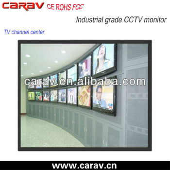 15 inch high quality and stable surveillance industrial monitor