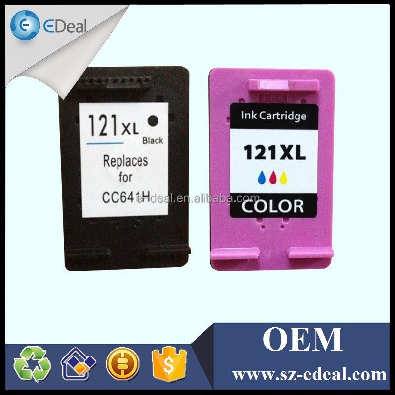 Refillable cartridge for hp 121 ink cartridge