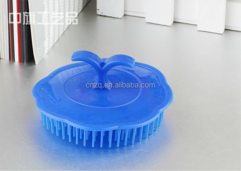 plastic Washing Hair Brush