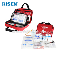 Hot selling first aid kit bag/empty first aid bags/medical first aid kits for outdoor, sporting ,injuries