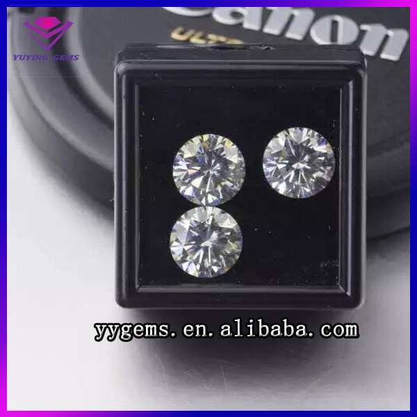 VVS White Hardness 10 Colorless Diamond Cut Polished Jewelry Stone India Russia Loose Gemstone Lab Grown Moissanite Diamond