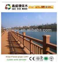 gswpc non fading,water-proof outdoor wood plastic composite fence panels