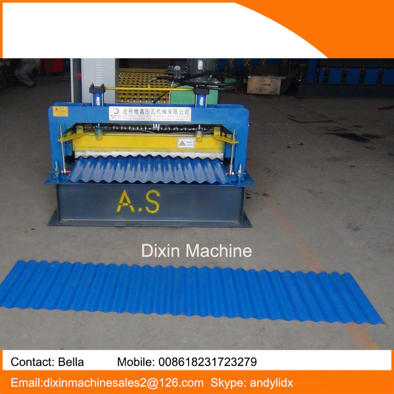 hot type on Alibaba beautiful nice corrugate ppgi metal roofing dongguang yufa roll forming machinery for export