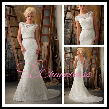 lace mermaid designer wedding dresses bridal gowns