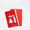 New Design Fancy Custom Birthday Merry Christmas card Christmas Gift Cards