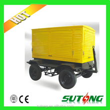 50kva enclosure moveable trailer gensets