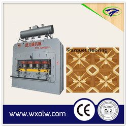 Wood parquet flooring production line /HDF laminate flooring production machine