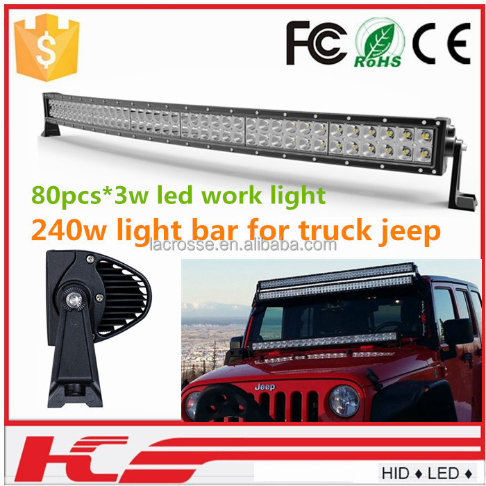 Wholesale super bright 4d 5d led light bar ip68 led bull bar light epistar led light bar