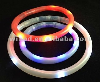 Wholesale silicone light up dog shock collar