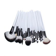 Custom Logo Make up Brushes Free Samples White Maquillaje Tools Private Label Professional Makeup Brush Set