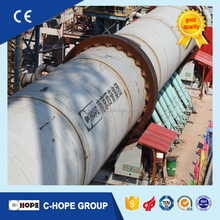 China manufacturer horizontal widely used active lime cement calcining rotary kiln price